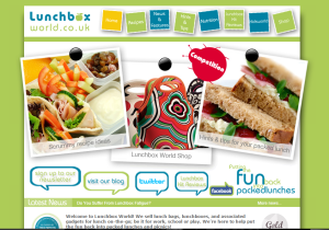 Lunchbox World website 2009