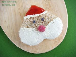 Father Christmas Sandwich