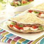 Lunch Box Idea 16 – Cheese, Ham, Red Pepper Pancake