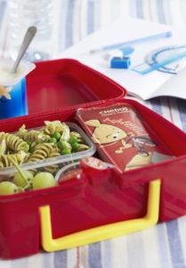 Lunch Box Idea 9 – Chicken Pasta Salad Kids Menu