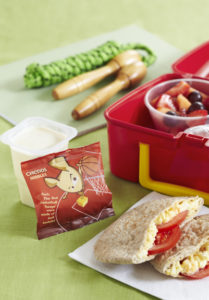 Egg Tomato Pitta Lunch box
