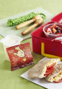 Lunch Box Idea 8 – Egg Tomato Pitta Kids Meal