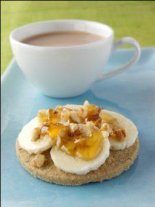 Oatcake Snack to combat stress