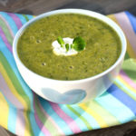 Lunch Box Idea 11 – Pea, Pear and Watercress Soup