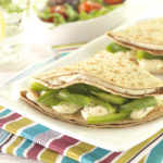 Lunch Box Idea 17 – Primula Cheese & Chive, Green Pepper Pancakes