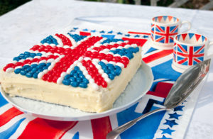 Lunch Box Idea 21 : Jelly Bean Jubilee Union Jack Cake