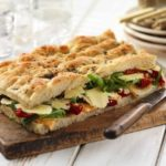 Lunch Box Idea 35: Tomato Courgette Foccacia