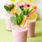 Lunch Box Idea 32: Juicy Deuce Raspberry Smoothie