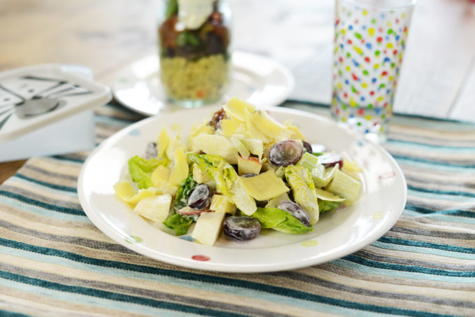 lunchbox idea 34 - light summer salad