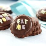 Lunch Box Idea 37 – Valentine Chocolate Bottle Top Biscuits