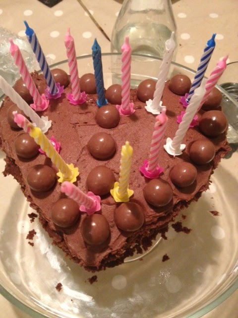 National Cupcake Week : A birthday cake, candles but no matches...