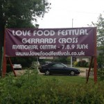 Love Food Festival in Gerrards Cross