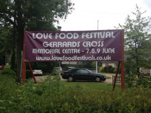 Love Food Festival Gerrards Cross