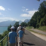 Family Hike Lake Annecy Part 1