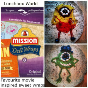 Lunch Less Ordinary Week 3 – Favourite Movie Wraps