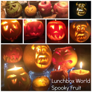 Spooky Fruit for Halloween!