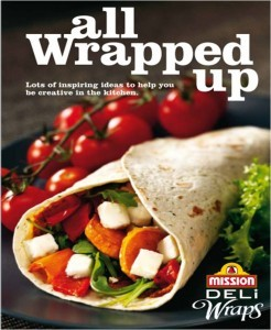 Competition starts today! 10 lucky readers to win Mission Deli Wrap goodies!