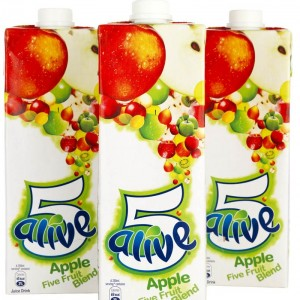 Lunch box Drink – New 5-Alive back with new Apple Flavour!
