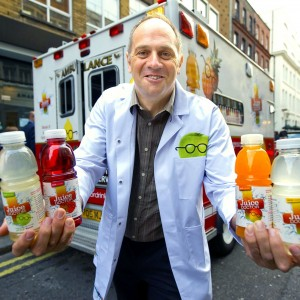 Olympian Sir Steve Redgrave is  the Juice Doctor  Co-Founder of the Juice Dr launches the Keep it Light Campaign to help two thirds of Brits who are de hydrated on a daily basis see attached story