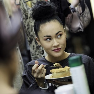 Pies en vogue for lunch as British Fashion Week 2011 opens its doors!
