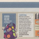 Lunchbox World in the News! Recommended in Sunday Times by Jonathan Futrell