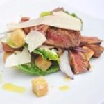 Autumnal Spicy Beef Caesar Salad