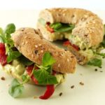 Lunch Box Idea 13 – Avocado and Pepper Bagel