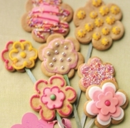 Blooming Lovely Flower Cookies