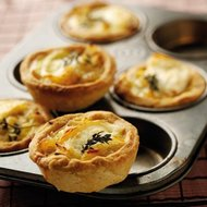 Caramelised Onion Goats Cheese Thyme Tartlets - Lunchbox World
