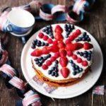 Carnation Celebration Cake