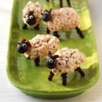 Cheerios Fluffy Sheep