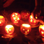 A Happy Halloween with no pumpkin nor tea lights…