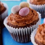 Easter Egg Chocolate Muffins