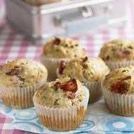 Edam Bacon Sun-dried Tomato Muffins