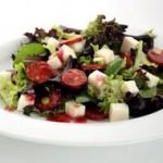 Gary Rhodes Chorizo Goats Cheese Salad