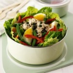 Lunch Box Tuna Bean Lettuce Salad