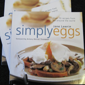 "New competition starts today! 10 copies of Jane Lawrie's ""Simply Eggs"" to give away!"
