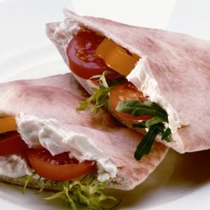 Philadelphia Salad Pitta