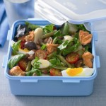 Salmon Nicoise Mixed Bean Salad