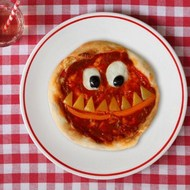 The Monster Red Nose Pizza
