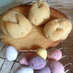 Fun Lunch Box Idea: Easter Bunnies!