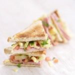 Grilled Hawaiian Pizza Style Sandwich