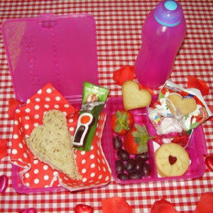 Happy Valentine's Day! Let's put some LOVE in your lunch box!