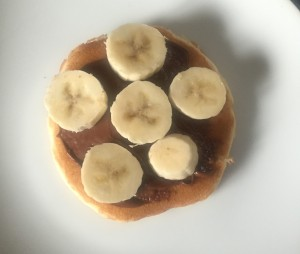 nutella banana pancake
