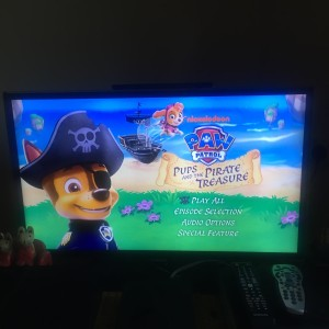 paw patrol dvd screen