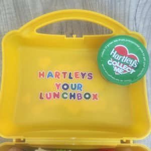 claim your hartleys lunchbox