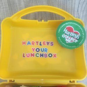 claim your hartleys lunchbox