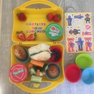hartleys lunchbox challenge ideas