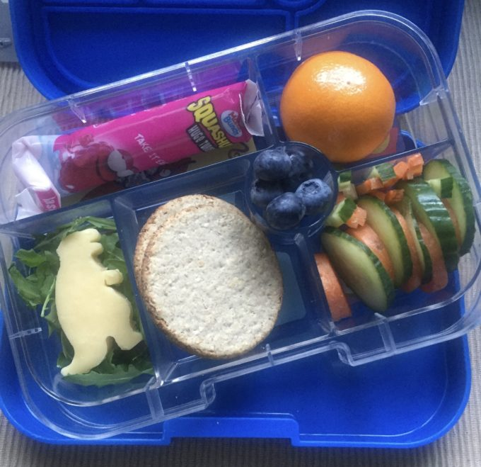 yumbox lunch box inner compartment