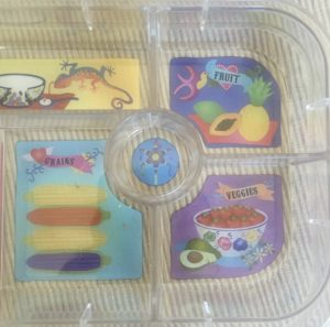 yumbox lunch box compartment tray